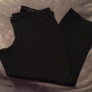 Lee Comfort Fit Black Pants
